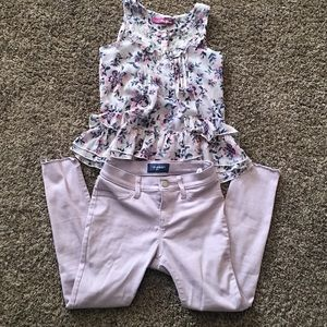 Children's Top and Bottom Size 10